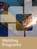 Welding Training Button